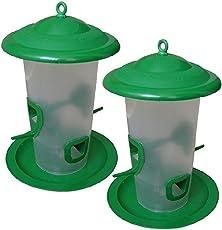 Bird Feeder (Bird Food Stand) For All Birds Set Of 2 Pack