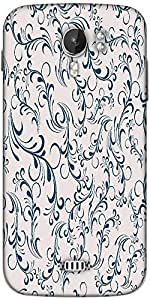 Snoogg seamless floral pattern abstract background Designer Protective Back Case Cover For Micromax A116