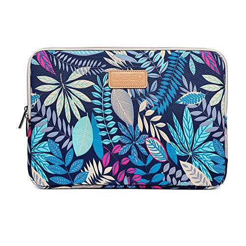 15.6 Inch Zoll Laptop Sleeve Case mit bunten Blätter Muster Ultrabook für Macbook Air / Laptop Tasche / Notebook-Computer (15-15.6 Inch, Style 5)