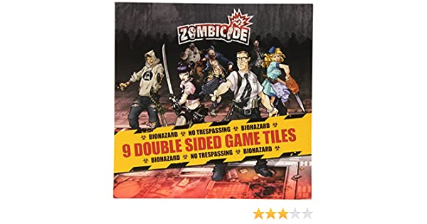 Prison Outbreak Tile Pack Zombicide Guillotine Games 331541