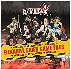 Zombicide Expansion: 9 Double Sided Game Tiles