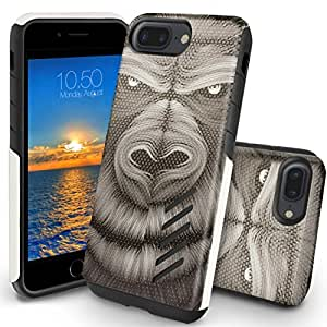 iPhone 7 Plus Case, Orzly® Grip-Pro Case for iPhone 7 Plus (5.5 inch Model) - Durable & Light-Weight Twin Layer Protective Case - Grumpy Ape