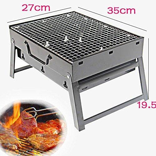 61qxLOqMvKL - Sunjas BBQ Holzkohlegrill Reisegrill Minigrill Tischgrill Picknick Campinggrill