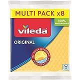 Vileda 142274 sponsdoekje, bijzonder hoge zuigkracht, voordeelverpakking met 8 stuks (diverse kleuren)