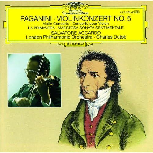 Paganini: Maestosa Sonata sentimentale, MS. 51