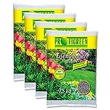 30 kg Eisendünger (4 x 7,5 kg-Vorteilspack) VERSANDKOSTENFREI Gartendünger Rasendünger Langzeitwirkung