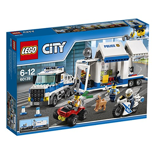 LEGO - 60139 - City - Jeu de construction - Le Poste de Commandement Mobile