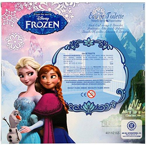 AIR-VAL Frozen Geschenk-Set, bestehend aus Schmuck und Eiskönigin-Parfum, 1er Pack (1 x 30 ml)