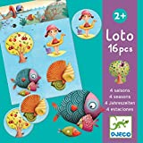 Djeco Board Game - Lotto Four Seasons