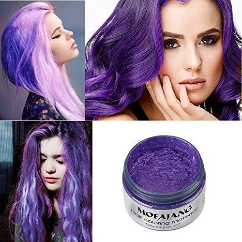 Petansy Haarfärbemittel Wachs Natürliches Haarwachs Einweg-Haarstyling Sofortige Haarfarbe Frisur Färben Wachs Haar-styling-wax-stick