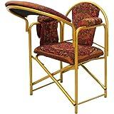 كرسي الصلاة قابل للطي لون أحمر