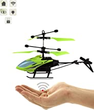 Gooyo RC Infrared Induction Electronic Sensor Helicopter(Without Remote) USB Charger Flying Helicopter with Flashing Light (G