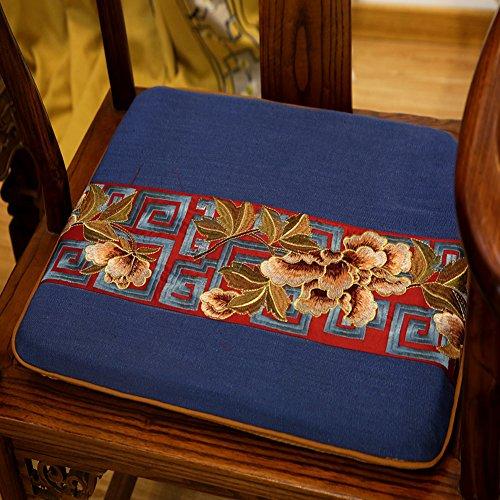 xinping Chair Pads Chaise Pad/Chaise en Bois Cushion-g 50 x 44 cm (50,8 x 43,2 cm)