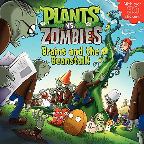 Plants vs. Zombies: Brains and the Beanstalk [With Sticker(s)] por Annie Auerbach
