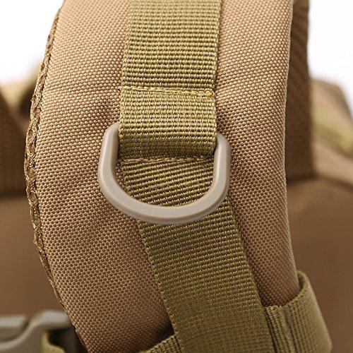 YYY-Sport all'aria aperta camuffamento zaino esercito fan arrampicata escursionismo borse zaino 28 * 48 * 29cm , 4 3