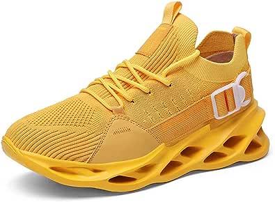 GSLMOLN Scarpe da Ginnastica Uomo Scarpe per Correre Running Corsa Sportive Outdoor Fitness Respirabile Mesh Sneakers