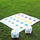 2 In 1 Giant Snakes and Ladders / Tangled Twister Outdoor Garden Game...