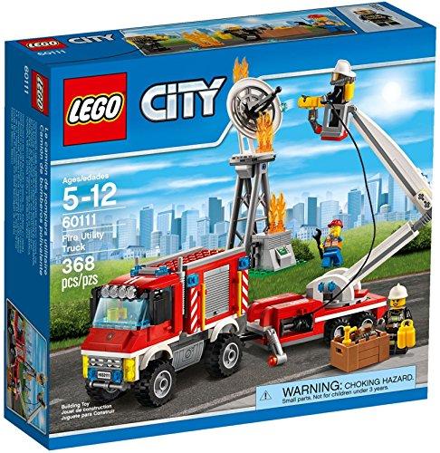 Preisvergleich Produktbild LEGO City Fire Utility Truck Set #60111 by LEGO