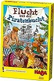 Haba 302789 - Flucht aus der Piratenbucht | Spannendes Taktikspiel für die ganze Familie zum Denken, Würfeln und Zusammenarbeiten | Kooperatives Spiel ab 5 Jahren