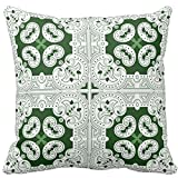 Bags-Online Vintage Cushion Cover Zipper Throw Pillow Case Retro Both Sides for Room Sofa