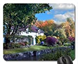 Magical Manor Mouse Pad, Mousepad (Houses Mouse Pad)