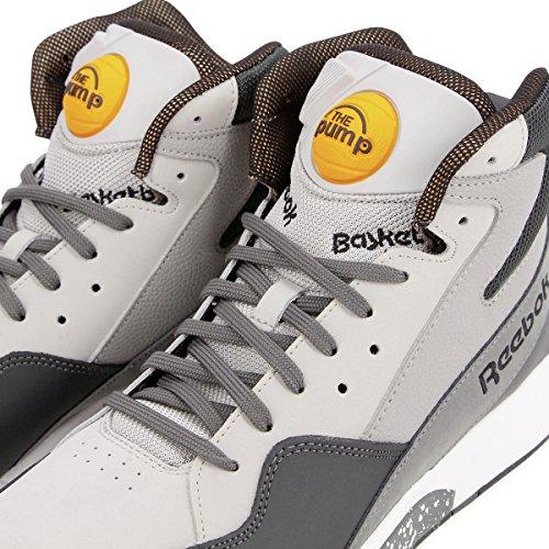 Reebok Pump Skyjam M46203 Herren Basketball Sneaker / Freizeitschuhe Weiß Grau