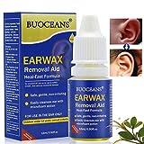 Ohrentropfen, 15 ml Ear Drop, Ohrenschmalz Entferner Ohrwachs Entfernungs Ohr Schmalz Reiniger Spiralreinigungssystem