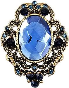 bastoni gioielli vintage elegante stile vittoriano signora cammeo spilla pendente goccia spille spille elegante regalo pin anti-oro