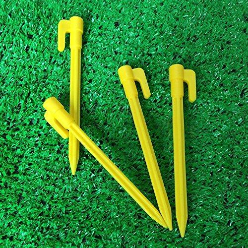 ADEPTNA Lote de 50 piquetas de Acero galvanizado para Tienda de campa/ña de Larga duraci/ón Ideal para Deportes de Camping y Mucho m/ás