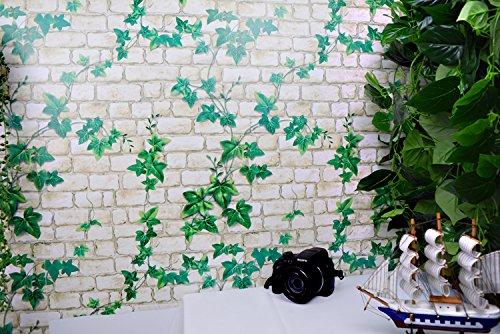ALLDOLWEGE Einfache Schlafzimmer Schlafzimmer Wandaufkleber College-Schlafsaal Wand Dekoration Poster Wand Papier selbstklebende Malerei, Kriechgang Ziegel (Malerei Ziegel)