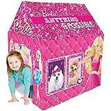 Gencliq Barbie Kids Play Tent House - Multi Color