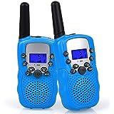 WANFEI Walkie Talkies Niños, Walky Talky Niños 3KM Largo Alcance con 8 Canales Función de VOX Linterna LCD, Inalámbrico Inter