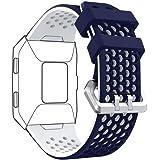 DD para Fitbit Ionic Correas, Ajustable Silicona Suave Deportiva Banda Repuesto Accesorio para Fitbit Ionic Reloj