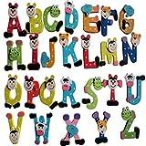 26pcs Giocattolo educativo del bambino di A-Z del magnete di A-Z del fumetto di Rawdah (multicolore)