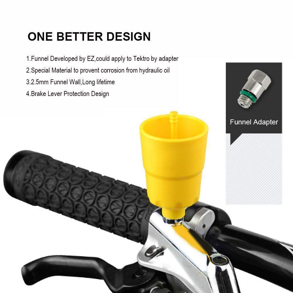 Dioche Hydraulisches Entlüftungsset, Bremsen EntlüFtungsset Bremsanlage Werkzeuge Hydraulische Fahrrad Entlüftungs Kit