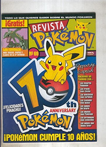 Revista pokemon numero 069