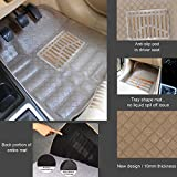 Oshotto Premium Quality Car Tray Mat for Volkswagen Vento (Set of 5, Beige)