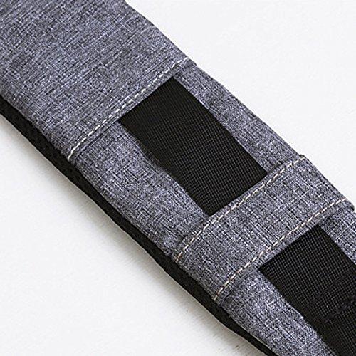 Moda Sport Acquatici Concisi Prova Borse Torace Durevole Dello Zaino Multicolore Black