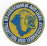 Braunschweig Aufnäher/Bügelbild / Stickbild/Abzeichen / Iron on Patch