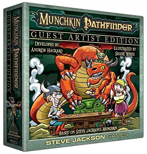 Steve Jackson Games sjg04423-Munchkin Pathfinder Guest Artist Edition, Juego de Cartas