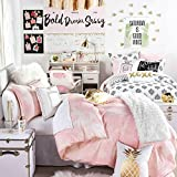 Home Designs Cotton Doublebed Quilt Cover, 90x100-inch (Pink, 3dnew818)