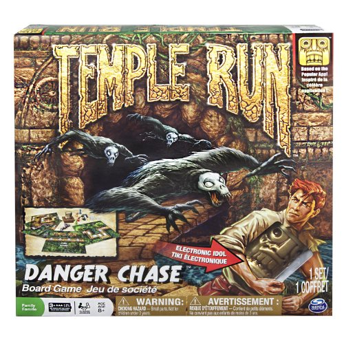 Spin Master Games Temple Run Danger Chase Board Game