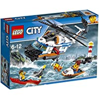 "LEGO UK 60166"" Heavy Duty Rescue Helicopter Construction Toy"