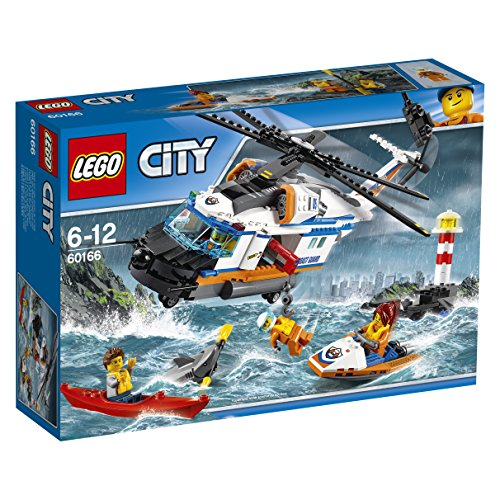 LEGO City Coast Guard - Gran helicóptero de rescate (60166)