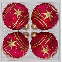 suchergebnis auf f r weihnachtskugeln rot gold glas k che haushalt wohnen. Black Bedroom Furniture Sets. Home Design Ideas
