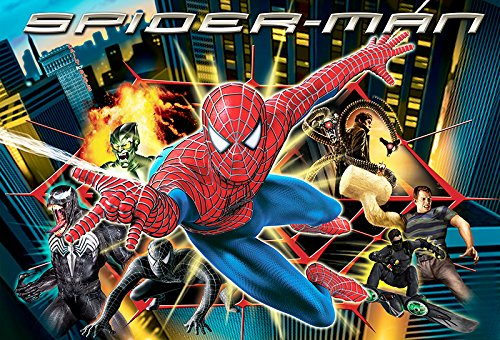 Kinder Fototapete Photo Wallpaper Poster SPIDER-MAN 250x170cm Spiderman room Border Wall-tatoo Bordüre Kinderzimmer
