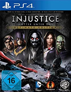 Injustice - Ultimate Edition - [PlayStation 4] (B00FS3UT0A)   Amazon Products