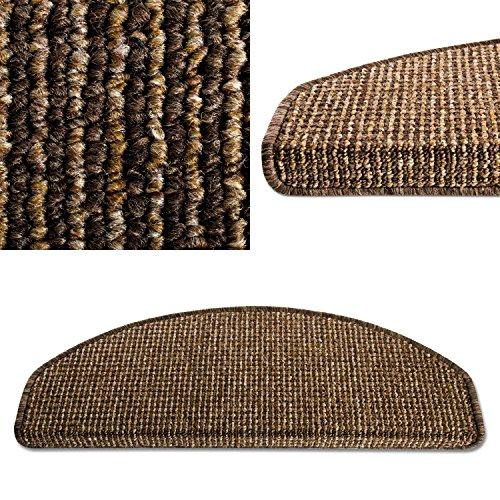 casa-pura-carpet-stair-tread-mats-london-choco-brown-15-piece-set-25-x-65-cm-multiple-colours