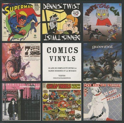 Comics Vinyls : 50 ans de complicit entre la bande dessine et la musique