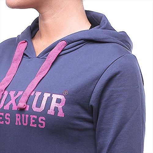 BOXEUR DES RUES Damen Kapuzenshirt Blu (Navy)